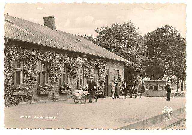 Borrby station