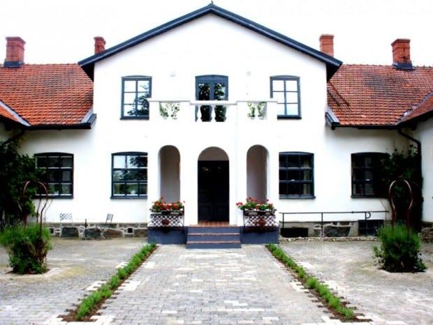 Borregården strax utanför Borrby
